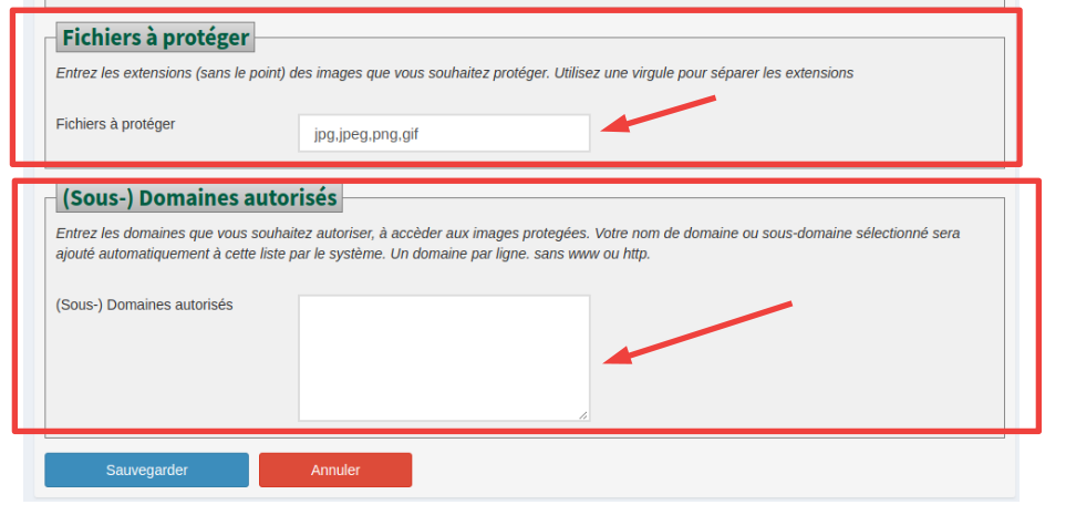 Protection Hotlink Section 4 et 5 Camoo SARL